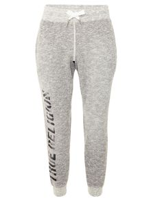 True Religion Tapered Fit Casual Tracksuit Bottoms