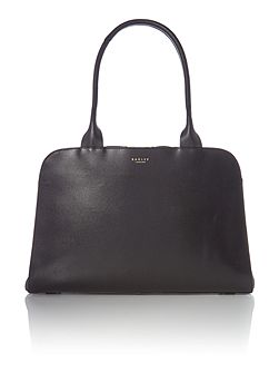 Millbank large black shoulder bag