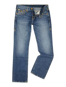 Ricky Medium Wash Mid Rise Jeans