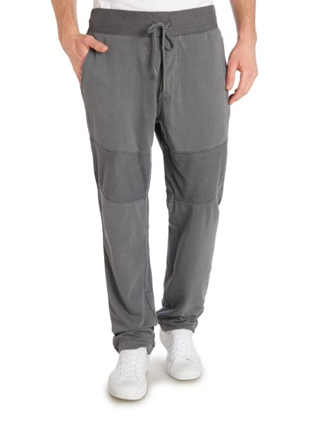 True Religion Tapered Fit Panelled Tracksuit Bottoms