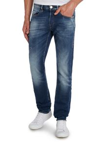 True Religion Rocco Dark Wash Slim Fit Jeans