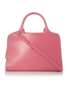 Millbank pink medium cross body tote bag