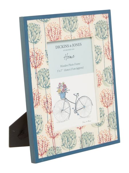 Dickins & Jones Tree printed frame 4x6