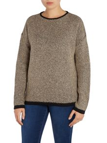 Barbour International Chicara crew neck jumper