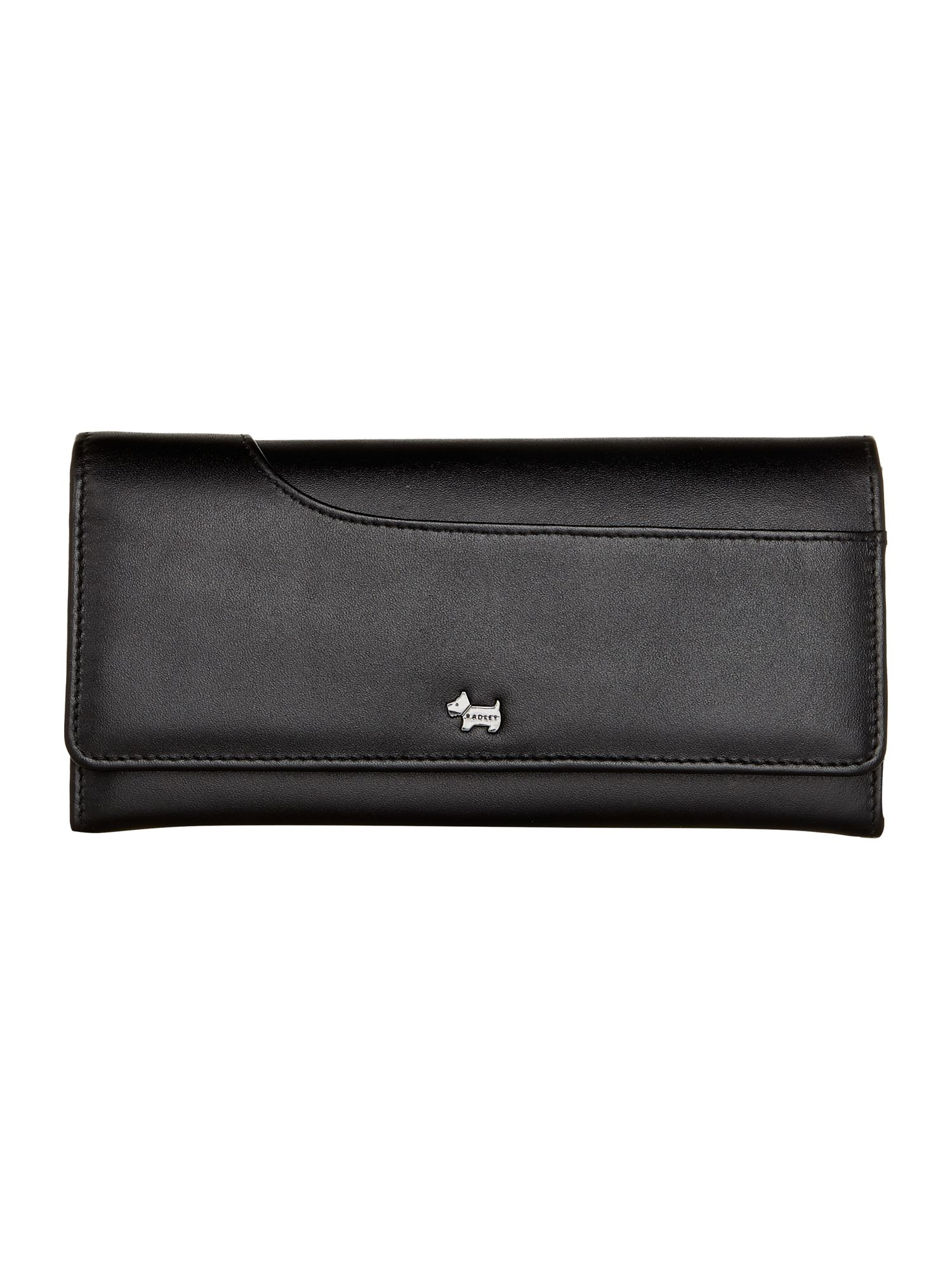 Radley Pocket bag large black flap over purse Black