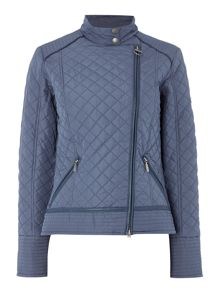 Barbour International Vanier short quilted jacket