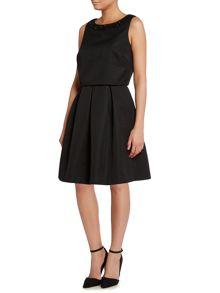 Dickins & Jones Fit & Flare Pop Over Dress