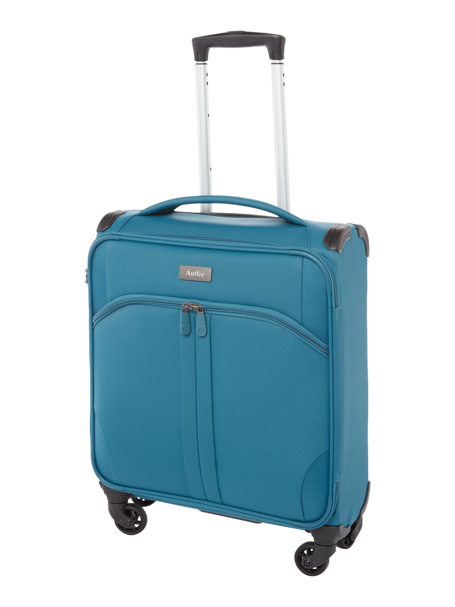 Antler Aire teal 4 wheel cabin suitcase Teal