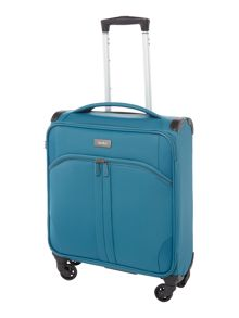 Aire teal 2 wheel cabin suitcase