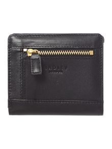 Dandy dogs black flap over purse