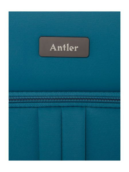 Antler Aire teal 4 wheel large suitcase