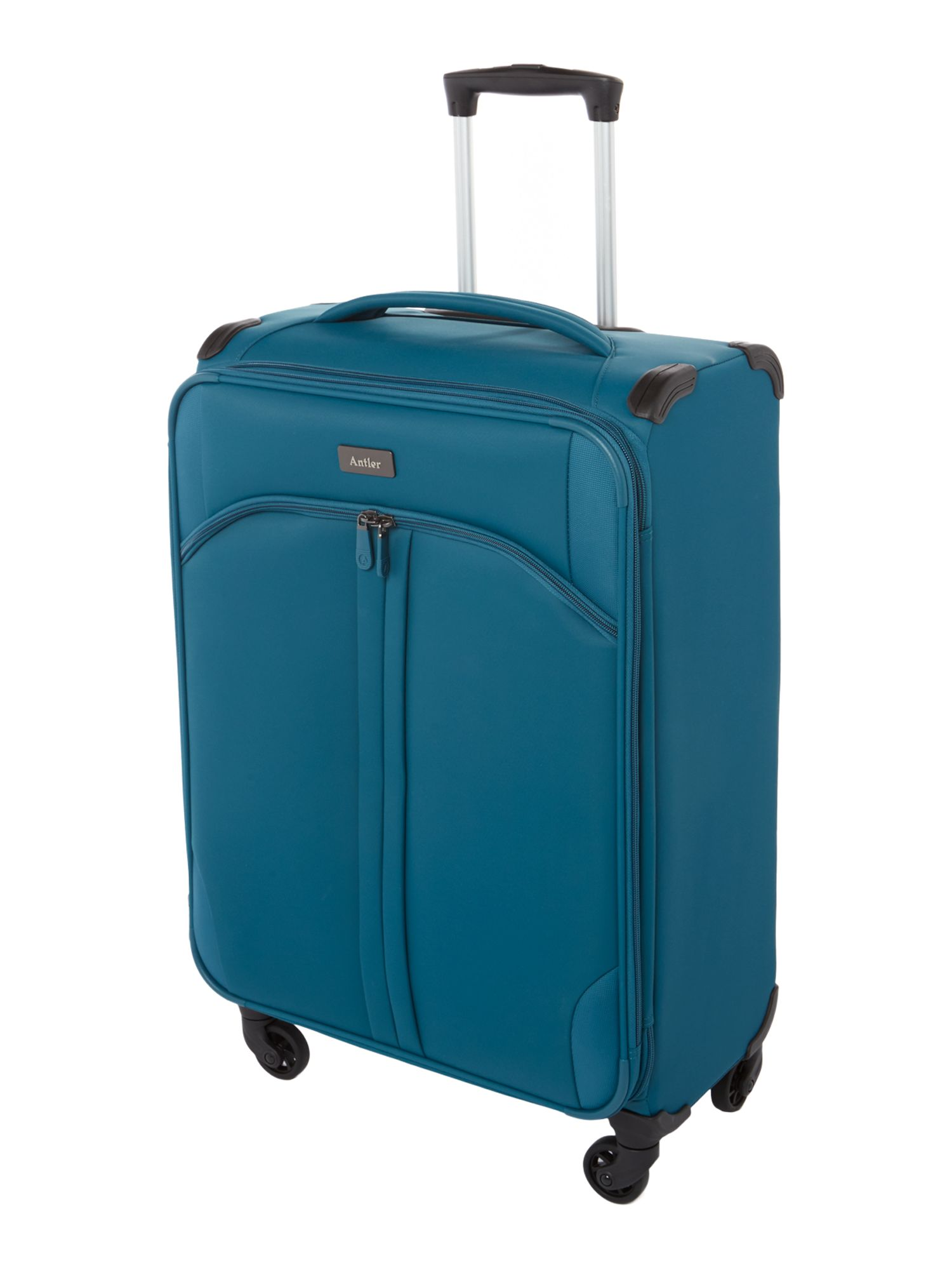 Antler Aire teal 4 wheel  medium suitcase Teal