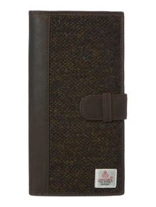 Howick Harris Tweed Travel Wallet