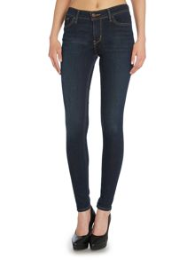 Levi's Innovation mid rise super skinny jean in deep end