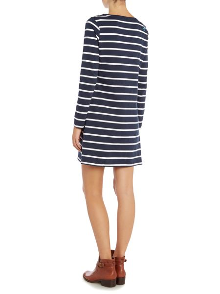 Brakeburn Yarn dyed stripe dress