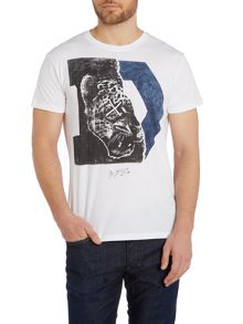 T-Migues `D` Leopard Graphic T-Shirt