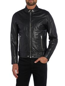 Casual Not Waterproof Full Zip Leather
