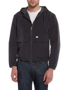 J-Dan Showerproof Zip Up Hooded Jacket