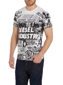 Print Crew Neck Regular Fit T-Shirt