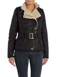 Barbour International matlock wax jacket