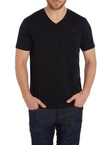 T-Therapon V Neck Logo T-Shirt