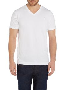 Diesel T-Therapon V Neck Logo T-Shirt