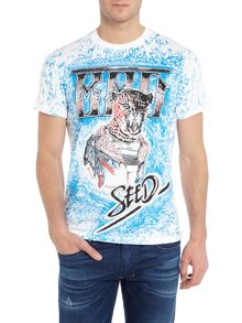 T-Amors Leopard Graphic T-Shirt