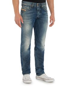 Diesel Belther 843S Tapered Fit Jeans