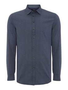 Diesel S-Ghei Regular Fit Micro Pattern Shirt