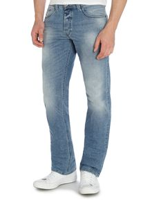 Larkee 842H Relaxed Fit Stretch Jeans