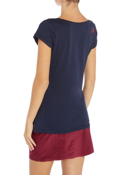 Brakeburn Little robin scoop neck tee