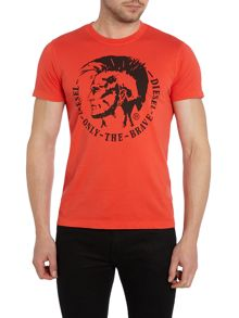 T-Ulysse Mohican Graphic T-Shirt