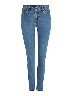 721 High Rise Skinny Jean in wild sea