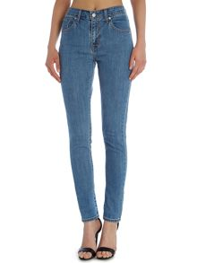Levi's 721 High Rise Skinny Jean in wild sea