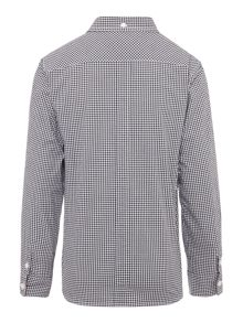 Fred Perry Boys Long Sleeved Gingham Shirt