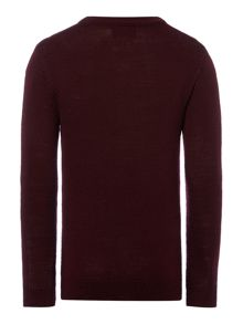 Boys Textured Jumper