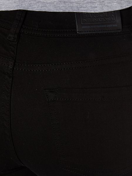Barbour International Overbore Skinny Jeans
