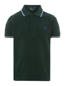 Fred Perry Boys Twin Tipped Classic Polo Shirt