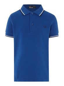 Boys Twin Tipped Classic Polo Shirt