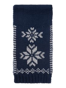 name it Boys Fairisle Scarf
