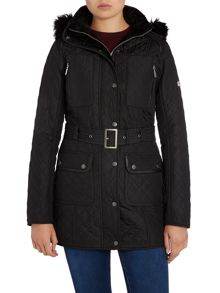 Barbour International Katana quilted jacket