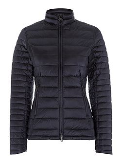 Clyde short baffle quilted jacket