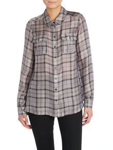 Barbour Dee silk blend shirt