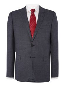 Tommy Hilfiger Rebel Steel Slim Fit Textured Suit
