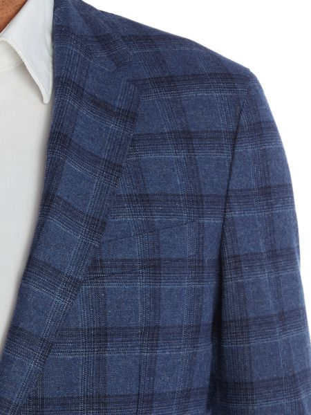 Tommy Hilfiger Blake Slim Fit Window Pane Check Blazer