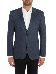 Tommy Hilfiger Cuypers-E Fitted Herringbone Blazer