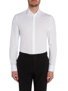Tommy Hilfiger Plain Slim Fit Long Sleeve Classic Collar Shirt