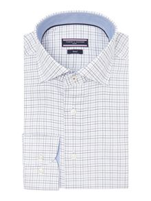 Jake Slim Fit Grid Check Shirt