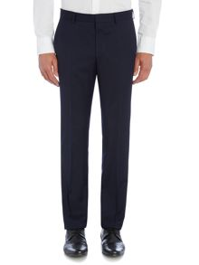 Steel Slim Fit Solid Suit Trousers