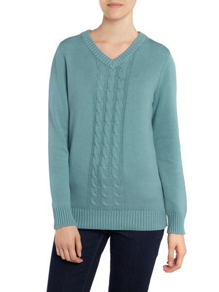 Brakeburn Cable knit jumper